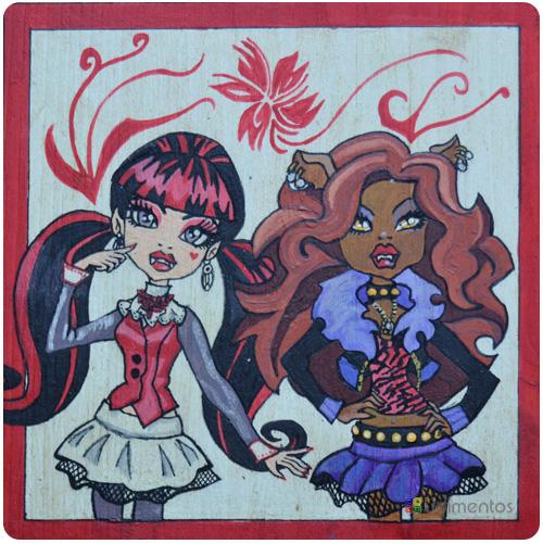 parchís de Monster High