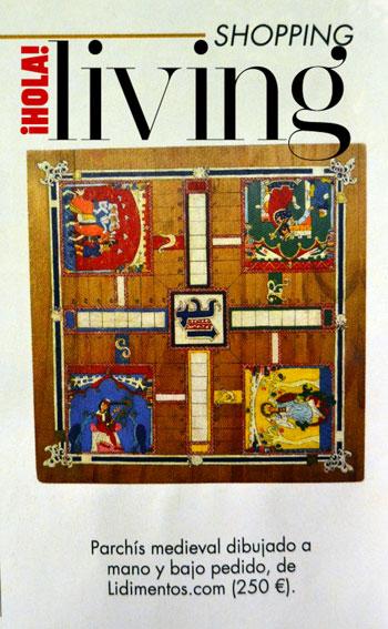 Events -Parchís Medieval published by Hola! Living - January 2020