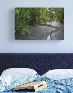 Die Blau Canvas Print