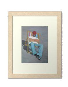 framed print of Doing Nothing