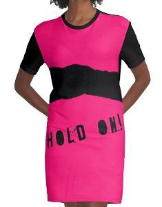 hold on graphic tshirt dress
