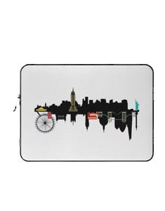 NYC and London Laptop Sleeve