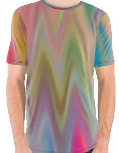 wet graphic tee shirt