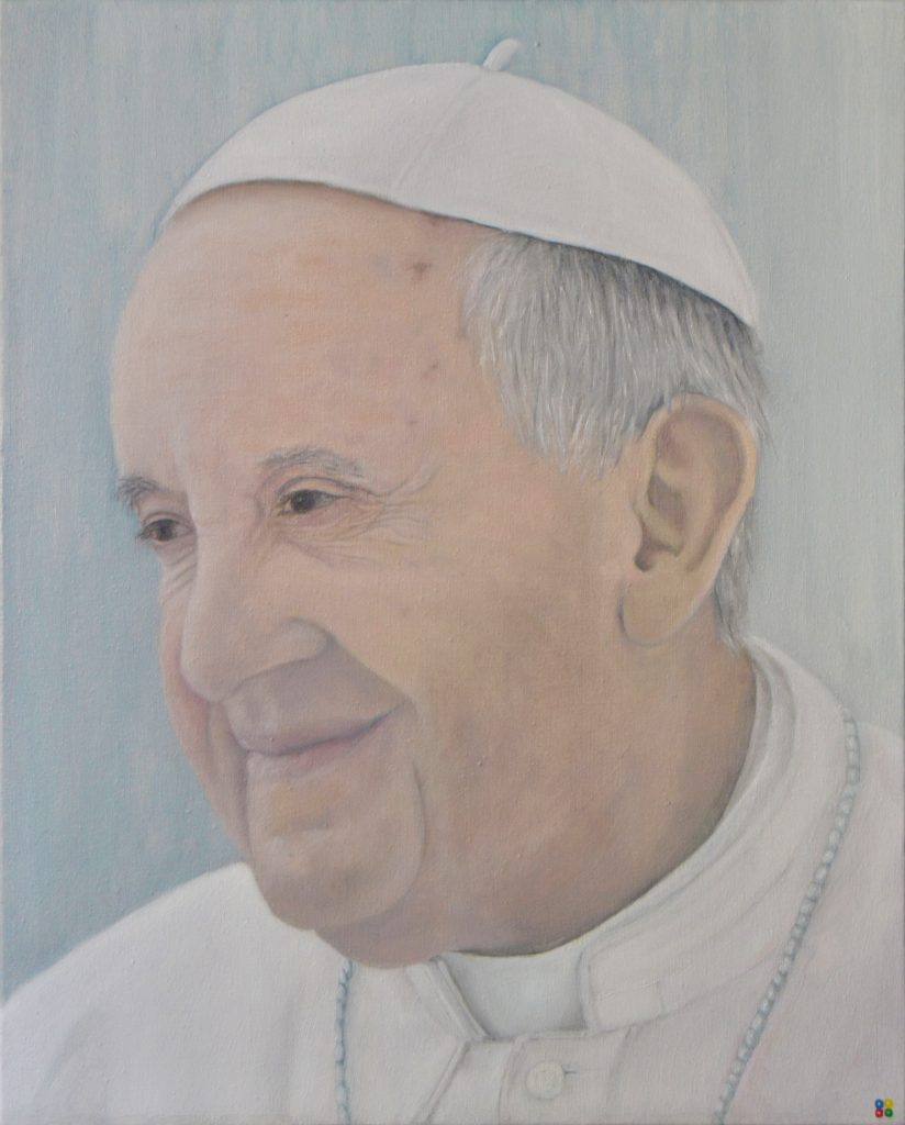 Pope Francis, by Lidimentos